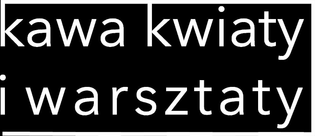 kawa kwiaty i warsztaty logo
